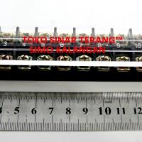Terminal Kabel Listrik BLOK 12 POLE STB 25A AC 600V Sambungan Firewire