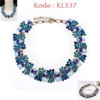 Kalung Wanita Fashion Biru - KL537