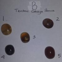 batu akik asli natural tembus cahaya B