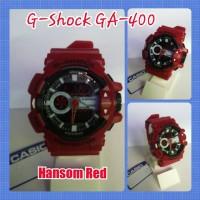 G SHOCK GA-400 HANSOM RED