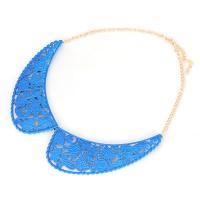 Kalung Korea Korean vintage fashion fluorescence color fake collar