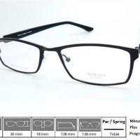 Kacamata Frame Nikon Titanium 9506 Black