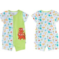 harga romper baby fashion green cat import murah jkt Tokopedia.com