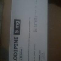 Amlodipine / Amlodipine Besylate 5mg Hexpharm Jaya
