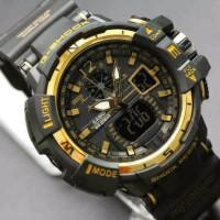 Jam tangan G shock GWA 1100 lis gold gshock