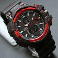 Jam tangan G shock GWA 1100 lis merah Gshock