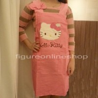 CELEMEK KAIN BORDIR HELLO KITTY PINK TUA