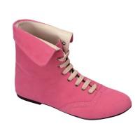 Sepatu Wanita Boots Casual Pink Raindoz - 355