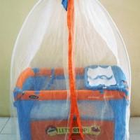 Baby box/ranjang bayi pliko Rocking Playard 819