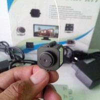 CCTV Kecil Wireless Pinhole Uk.2x2cm (Barang Persis Foto)