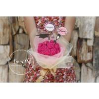 Handmade Flower Bouquet Graduation Gift / Buket Bunga Hadiah Wisuda