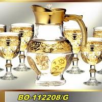 NEW PERANGKAT MINUM DAN GELAS KACA BO-112208/G  /