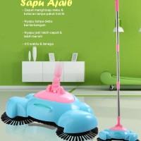 Sapu Ajaib (Dapat menghisap debu & kotoran tanpa pakai listrik)
