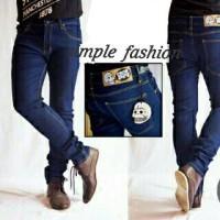 Celana Jeans Cheapmonday Skinny Navy Blue