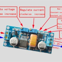 5A XL4015 DC Buck Converter Step Down Adjustable CC CV Charge Battery