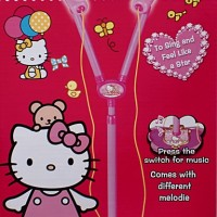 harga Mic Double Standing Hello Kitty Warna Pink Tokopedia.com