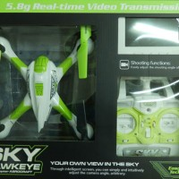 Quadcopter SKY Hawkeye FPV 5,8Ghz Real Time camera with LCD screen