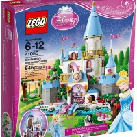 Toys LEGO Disney Princess Cinderella's Romantic Castle 41055