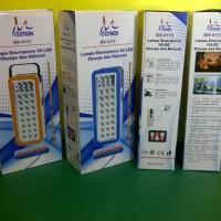 lampu emergency mitsuyama 6113 ( listrik charger d