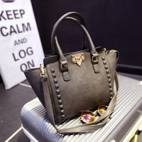 tas pesta tenteng hermes warna abuabu gray stud fashion wanita import