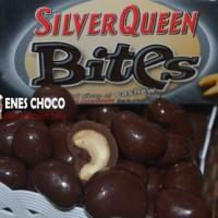 COKLAT SILVERQUEEN BITES DARK CHOCOLAT - 1KG