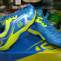 Sepatu Bulutangkis / Badminton RS JF860 LTD Blue Lemon