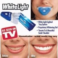 Ampuh Memutihkan Gigi/White Light/Pemutih dan Penghilang Plak