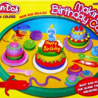 Lilin Mainan Fun Doh Makin Birthday Cake