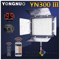 Yongnuo YN300-III Pro LED Video Light - 5500k with IR Remote & APP