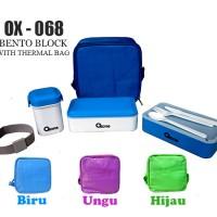 Tempat Bekal Makanan BENTO BLOCK with Thermal Bag