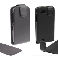 Leather Flip Case HTC Desire S - Desire VC - Desire X - Desire C