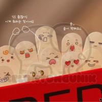 Korea Finger It Sticky Notes/ Post It/ Memo/ Stick It