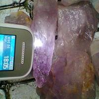 1 KG Rough (Bahan) Batu ANGGUR / BUNGUR / KECUBUNG UNGU - SUMBAR
