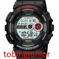 Jam Tangan Casio Original 100% G-Shock GD-100-1A BLACK HITAM