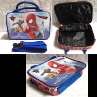Tas Travel / Koper Anak Spons Kecil Spiderman