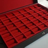 kotak cincin,batu akik,permata,isi 40