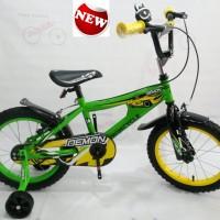 harga Gratis Ongkir Sepeda Anak Wimcycle Bmx 16 Demon Tokopedia.com