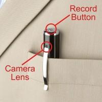 Spy Camera Pengintai Model Bentuk Pena Silver HD