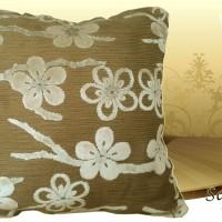 Bantal Sofa Kualitas Ekspor (Marble Sakura Ivory White-Gray)