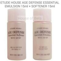 ETUDE HOUSE AGE DEFENSE ESSENTIAL EMULSION + SOFTENER 15ML (2PC)