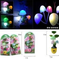 Lampu Tidur Jamur Mini / Cup Mushroom Lamp / Avatar Mini