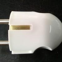 Steker ARDE BROCO PUTIH / Colokan Listrik Broko Bagus Two Pole Plug