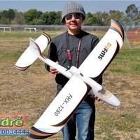 "RC Plane Glider FMS ""FHX-1280"" Easy Trainer 4-Channel RTF"