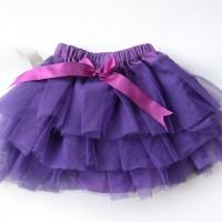 tutu skirt-purple