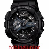 Jam Tangan Casio Original 100% G-Shock GA-110-1B HITAM FULL BLACK
