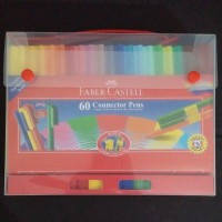 Connector pen faber-castell 60 warna