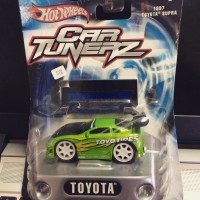 Hot wheels toyota supra car tunerz