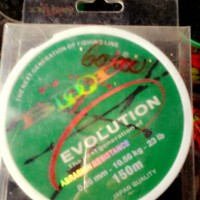 senar pancing evolution