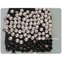 Anting magnet berlian tanpa tindik