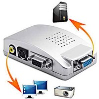 VGA Eksternal Untuk Laptop Ke TV & Proyektor